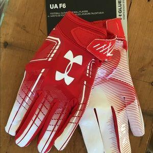 UA F6 Football Gloves Men's